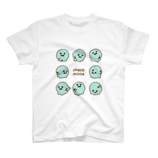 チョコミン太 T-shirts