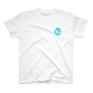 ビションフリーゼ/雲 T-shirts
