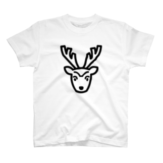 鹿(Tシャツ) T-shirts