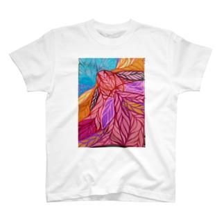 deketa  のきんぎょの天登り 太陽 T-shirts