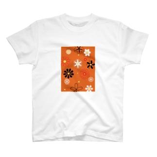懐かしの花 T-shirts