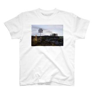 ハワイ島溶岩 T-shirts