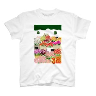 花屋 T-shirts