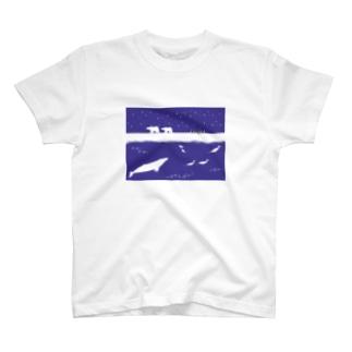ホッキョク T-shirts