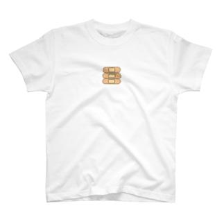 バンドエイドステッカー T-shirts