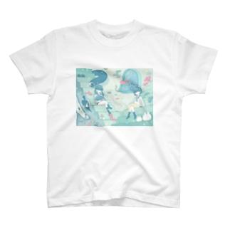 遊泳夢 T-shirts