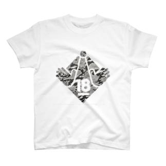 18禁(ヘビ柄) T-shirts