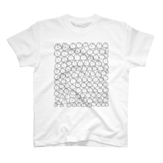 ふるふるうさふぃっく T-shirts