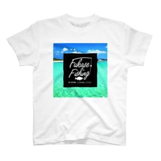 OKINAWAFISHINGSTYLE_T_ T-shirts