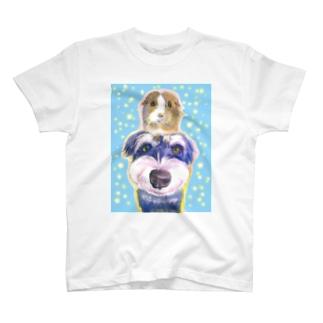 M-SUZURIのなかよしモルシュナ T-Shirt