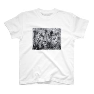 evol-mono T-shirts