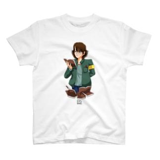 読書の秋 ~図書館にて~ T-shirts
