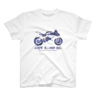 Team長野オフィシャルSUZURIショップのBMW S1000 RR T-shirts