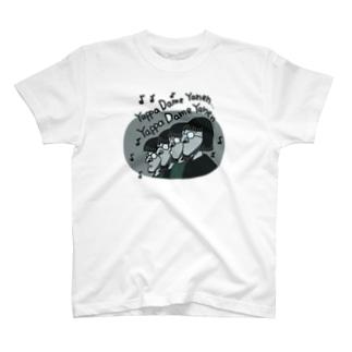 ヘンダーソン中村フー×ASITA_PRODUCTS T-shirts