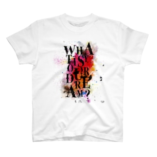 サヨナラの最終回×IMALAB(A01-WHITE) T-shirts