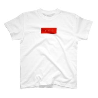 E.S.O box logo  T-shirts