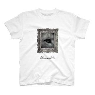 ANOTHER GLASSのにらめっこ T-shirts