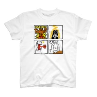 おまんじゅうマン T-shirts