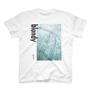 blondy×IMALAB(B03-WHITE) T-shirts