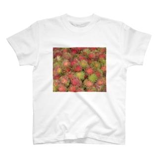 Scene_Sniperのフルーツ001 ランブータン T-shirts