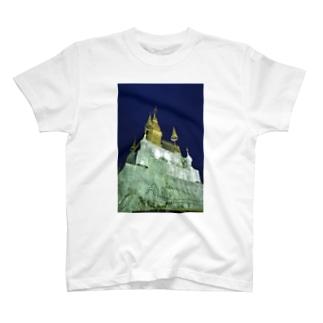 プーシーの丘の夜景 T-shirts