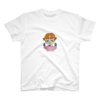チアばぶ👶🏻カラー T-shirts