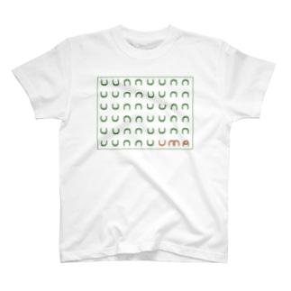 馬の蹄鉄 T-shirts