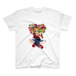 アイディアの花 T-shirts