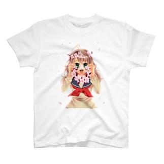 照れ隠し T-shirts