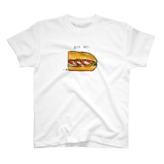 バイトミーみぎ T-Shirt