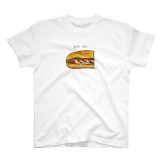 バイトミーひだり T-Shirt
