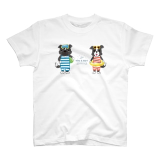 【nina&bart】ニナとバート (Love SUMMER) T-shirts