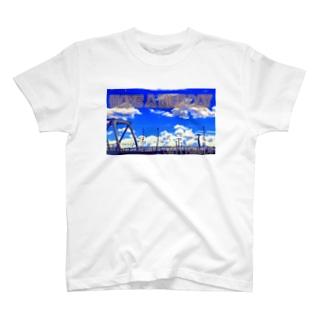 夏空へ向けて T-shirts