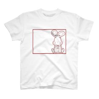可愛いうさぎ T-shirts