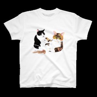 cheeのスルメの取り合い Tシャツ