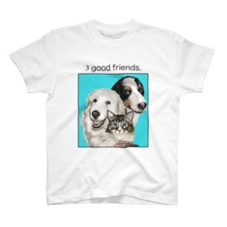 もも ころ とん T-shirts