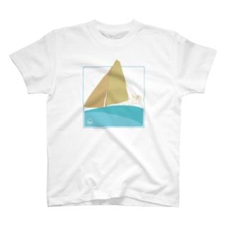 セーリングヨット T-shirts