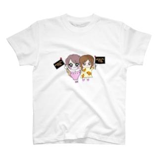 ゆあさま✖︎もえてぃん T-shirts