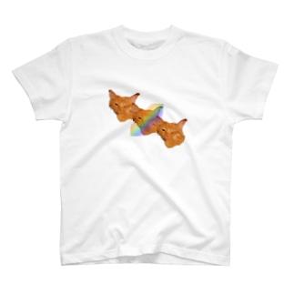 猫いぇーい! T-shirts
