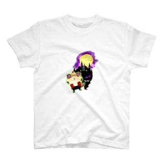 《ハロウィン》03*狼ちわわ男* T-shirts