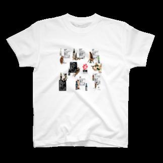 cheeの酔猫シリーズ T-shirts