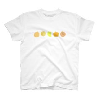 秋色のいろいろ T-shirts