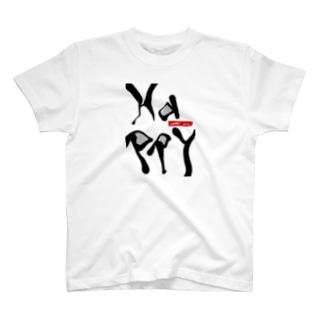 happy Tシャツ T-shirts