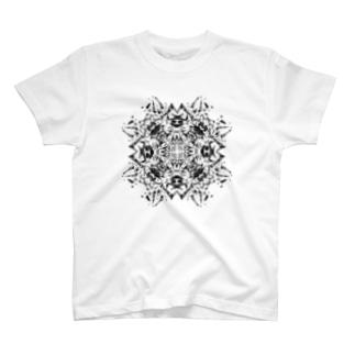 クロス(黒ver) T-shirts