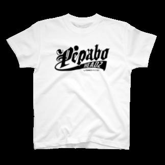 PEPABO HEADZのPEPABO HEADZ Black Logo T-shirts