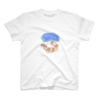 TOUNYUUのニシアフほろちゃん T-shirts
