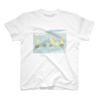 飛び石 T-shirts
