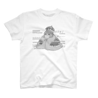 1周年モノクロTシャツ T-shirts
