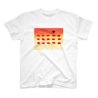 うみのいきもののキツネダイ T-shirts