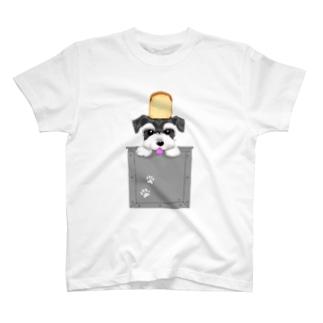 M-SUZURIのシュナ食パン T-Shirt